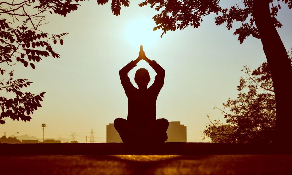 a meditator person