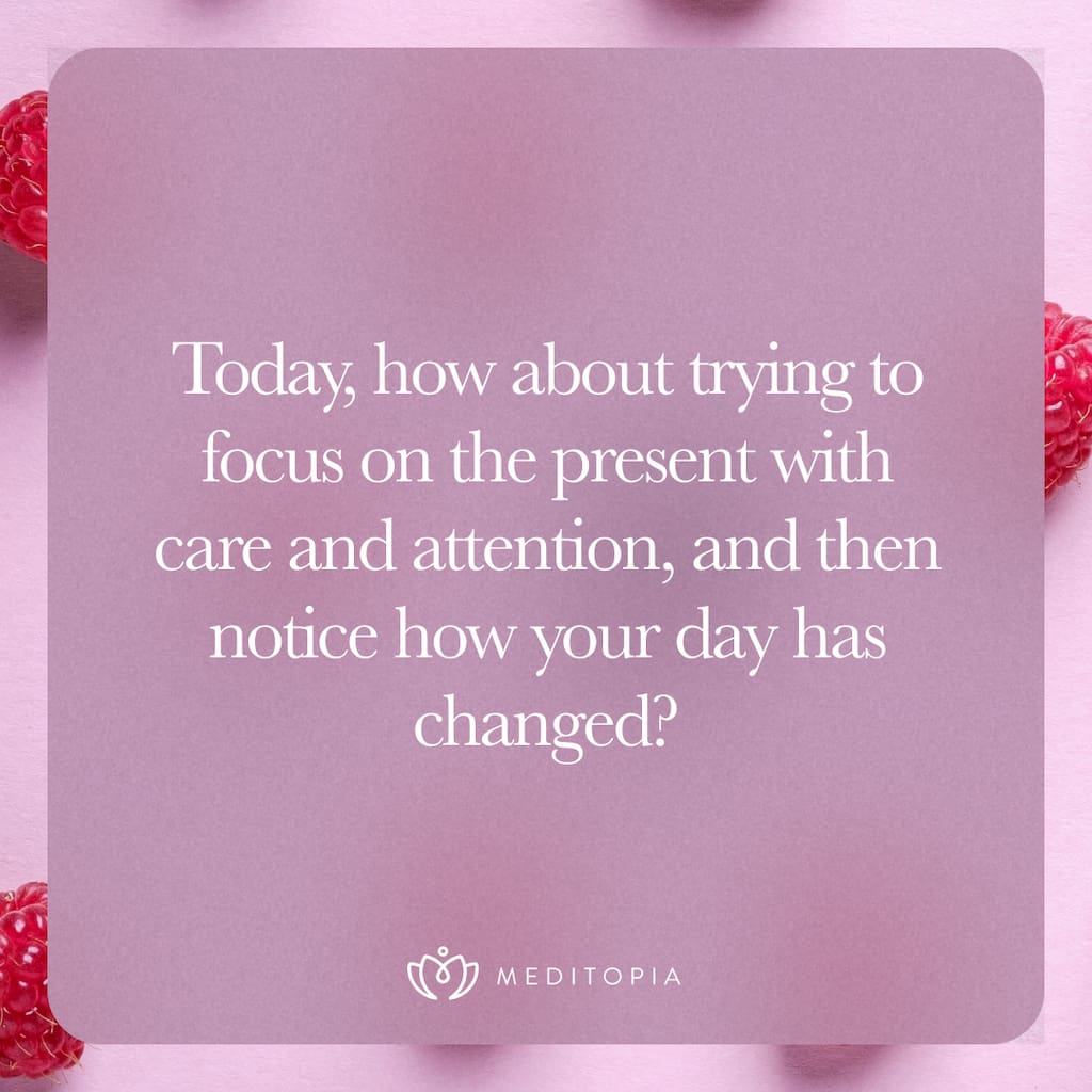 care and attention quote