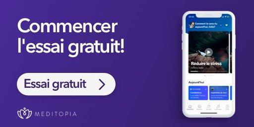 Rejoins la communauté Meditopia gratuitement pendant 7 jours
