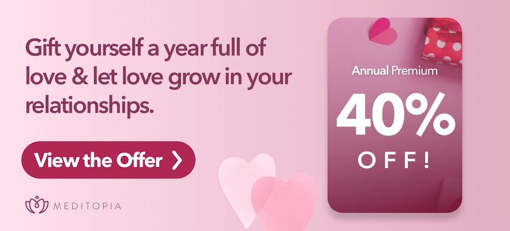 Valentines day meditopia
